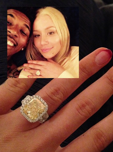 Iggy Azalea is engaged… Check out her ring!