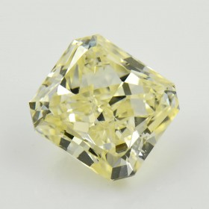 5.01 重量, 浅 Yellow (Y-Z) 钻石, 镭帝恩型 形状, VS2 净度, GIA 认证, 6197229150