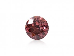 0.16 Carat, Fancy Vivid Purplish Pink Diamond, Round shape, ARGYLE Certified, 5161236588