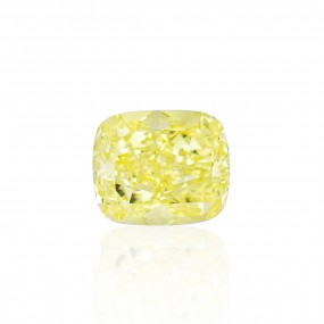 10.03 重量,  黄色 钻石, 枕型 形状, VS2 净度, GIA 认证, 6217095125
