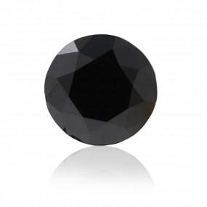 2.92 重量,  黑色 钻石, 圆型 形状, GIA 认证, 6187489242