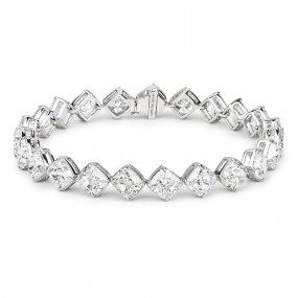 白色 钻石 手镯, 23.15 重量, MIX 形状, GIA 认证, JCBW05296023